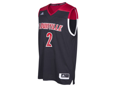 Louisville Cardinals #2 adidas NCAA Men's 2016 March Madness Replica Road Jersey