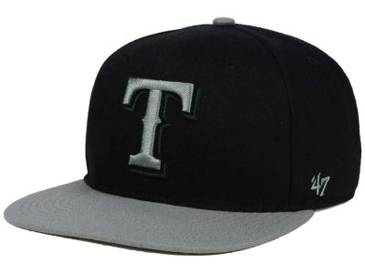 Texas Rangers '47 MLB No Shot Two Tone '47 CAPTAIN Cap