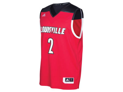 Louisville Cardinals #2 adidas NCAA Men's 2016 March Madness Replica Alternate Jersey