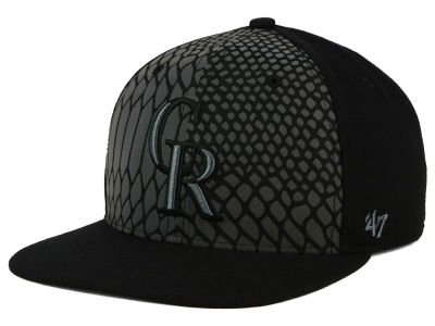 Colorado Rockies '47 MLB Anaconda '47 CAPTAIN Cap