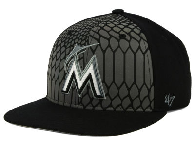 Miami Marlins '47 MLB Anaconda '47 CAPTAIN Cap