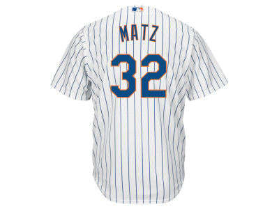 New York Mets Steven Matz Majestic MLB Youth Player Replica Cool Base Jersey