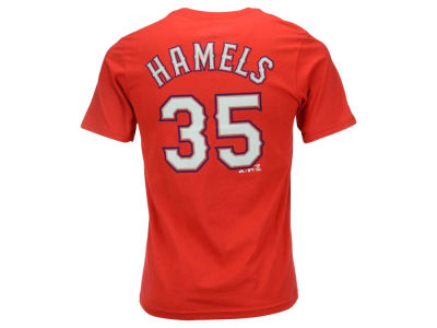 Texas Rangers Cole Hamels MLB Youth Official Player T-Shirt