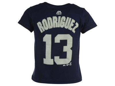 New York Yankees Alex Rodriguez MLB Toddler Official Player T-Shirt