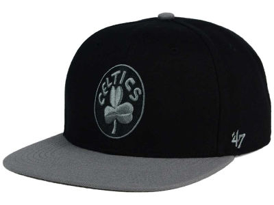 Boston Celtics '47 NBA HWC No Shot Black on Gray 2 Tone '47 CAPTAIN Cap