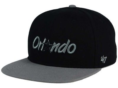 Orlando Magic '47 NBA HWC No Shot Black on Gray 2 Tone '47 CAPTAIN Cap