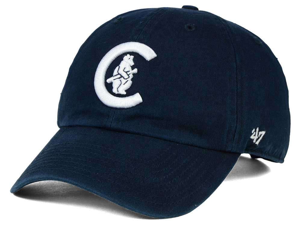 Chicago Cubs  47 MLB Cooperstown  47 CLEAN UP Cap  5f4a4c0a79a