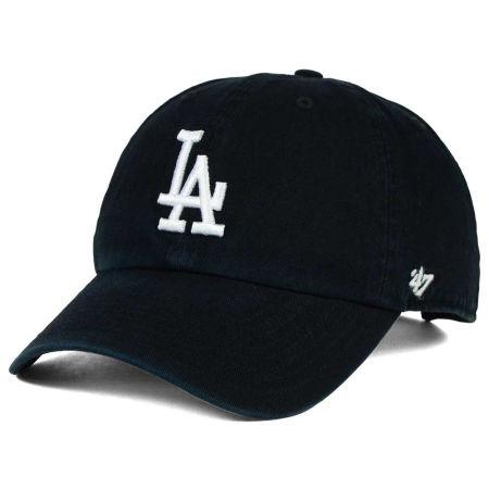 Los Angeles Dodgers '47 MLB Black White '47 CLEAN UP Cap