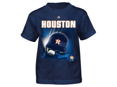 Houston Astros MLB Toddler Kinetic Helmet T-Shirt