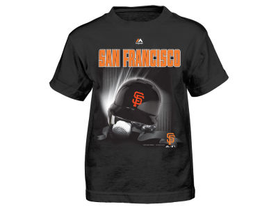 San Francisco Giants MLB Toddler Kinetic Helmet T-Shirt