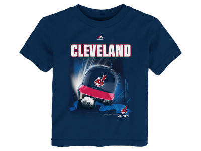 Cleveland Indians MLB Toddler Kinetic Helmet T-Shirt
