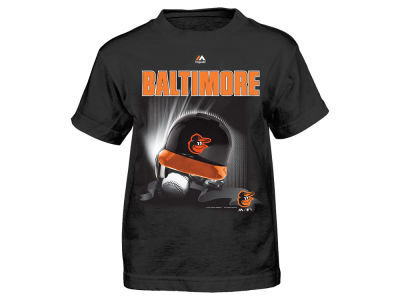 Baltimore Orioles MLB Toddler Kinetic Helmet T-Shirt