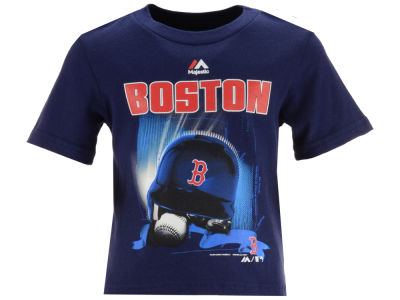 Boston Red Sox MLB Toddler Kinetic Helmet T-Shirt