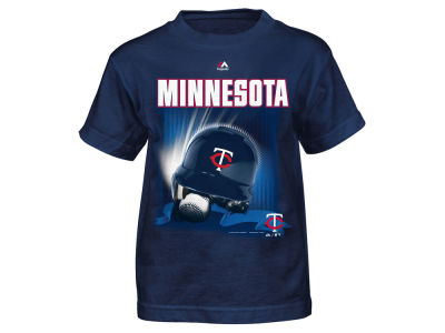 Minnesota Twins MLB Toddler Kinetic Helmet T-Shirt