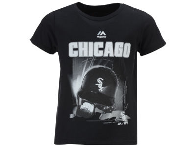Chicago White Sox MLB Toddler Kinetic Helmet T-Shirt