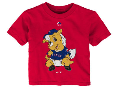 Texas Rangers MLB Infant Baby Mascot T-Shirt