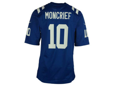 Indianapolis Colts Donte Moncrief Nike NFL Men's Game Jersey
