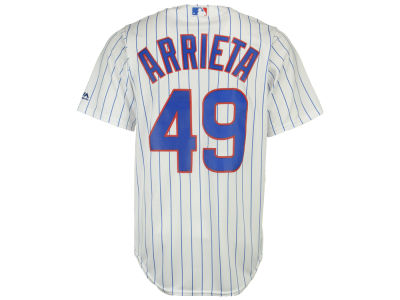 Chicago Cubs Jake Arrieta Majestic MLB Men's Player Replica CB Jersey