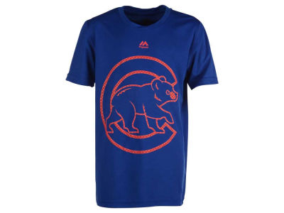 Chicago Cubs MLB Youth Hero Time Poly T-Shirt
