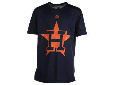 Houston Astros MLB Youth Hero Time Poly T-Shirt