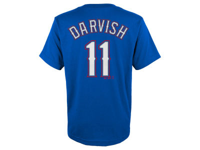 Texas Rangers Yu Darvish MLB Youth Official Player T-Shirt