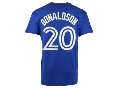 Toronto Blue Jays Josh Donaldson Majestic MLB Youth Official Player T-Shirt