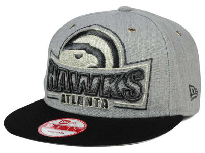 Atlanta Hawks New Era NBA HWC Metallic Grader 9FIFTY Snapback Cap