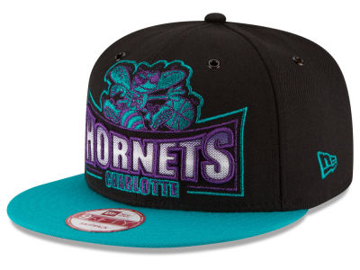 Charlotte Hornets New Era NBA HWC Metallic Grader 9FIFTY Snapback Cap