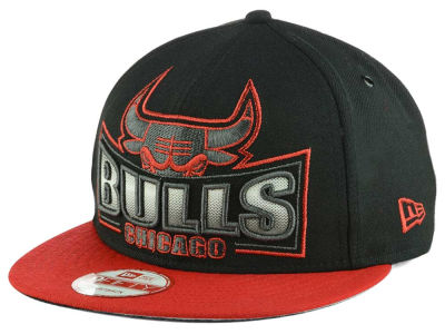 Chicago Bulls New Era NBA HWC Metallic Grader 9FIFTY Snapback Cap