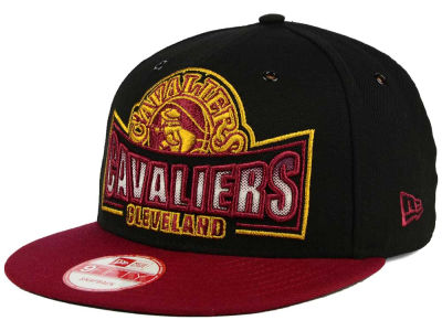 Cleveland Cavaliers New Era NBA HWC Metallic Grader 9FIFTY Snapback Cap