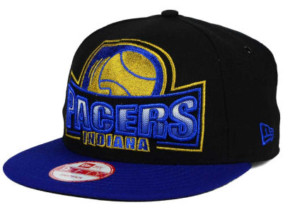 Indiana Pacers New Era NBA HWC Metallic Grader 9FIFTY Snapback Cap