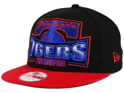Philadelphia 76ers New Era NBA HWC Metallic Grader 9FIFTY Snapback Cap