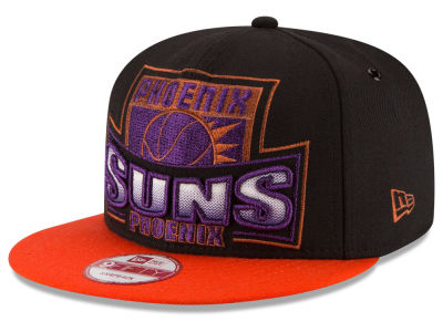 Phoenix Suns New Era NBA HWC Metallic Grader 9FIFTY Snapback Cap