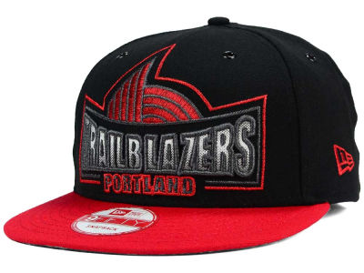 Portland Trail Blazers New Era NBA HWC Metallic Grader 9FIFTY Snapback Cap