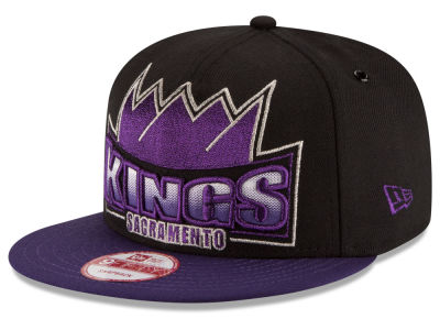 Sacramento Kings New Era NBA HWC Metallic Grader 9FIFTY Snapback Cap