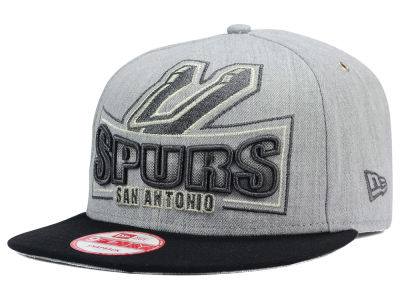 San Antonio Spurs New Era NBA HWC Metallic Grader 9FIFTY Snapback Cap