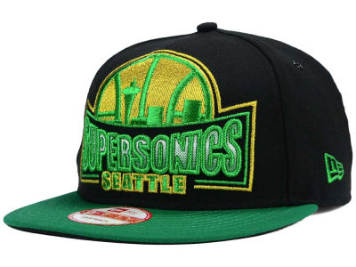 Seattle SuperSonics New Era NBA HWC Metallic Grader 9FIFTY Snapback Cap