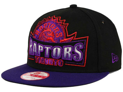Toronto Raptors New Era NBA HWC Metallic Grader 9FIFTY Snapback Cap