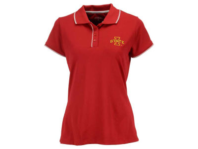 Iowa State Cyclones Antigua NCAA Women's Elite Desert Dry Polo