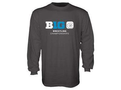 Blue 84 2016 Big Ten Men's Wrestling Championship Long Sleeve T-Shirt