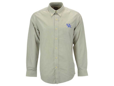 Kentucky Wildcats Antigua NCAA Focus Long Sleeve Woven Shirt