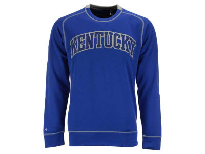 Kentucky Wildcats NCAA Men's Applique Logo Volt Crew Fleece Sweatshirt