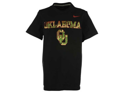 Oklahoma Sooners Nike NCAA Youth Camo Hook T-Shirt