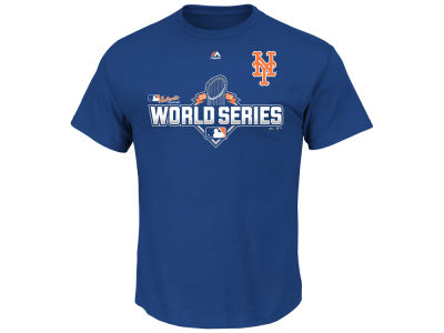 New York Mets Majestic MLB Women's World Series Participant T-Shirt