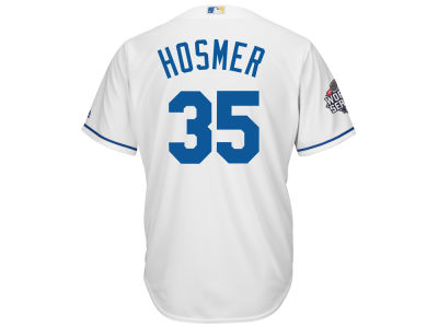 Kansas City Royals Eric Hosmer MLB Men's World Series Patch Player Cool Base Jersey
