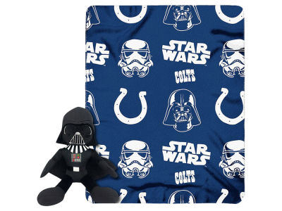 Indianapolis Colts Star Wars Hugger with Throw