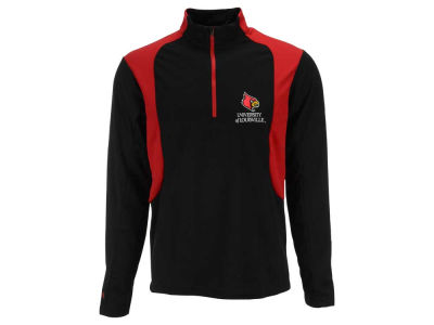 Louisville Cardinals NCAA Men's Delta Quarter Zip Pullover