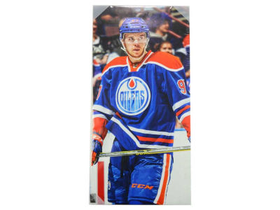 Edmonton Oilers Connor McDavid NHL 14x28 Canvas