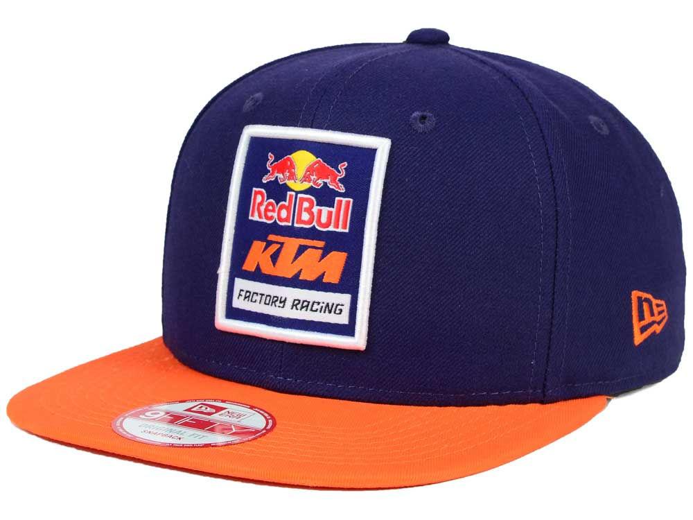 Red Bull KTM Logo Snapback Hat  e964059250f