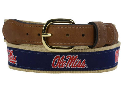 Ole Miss Rebels Ribbon Belt